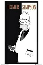 The Simpsons Home Simpson Scarface Official Large Poster 61 X 91 5 Cm