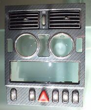 Mercedes R170 SLK230 96-04 Center Dash CARBON TRIM Bezel 1706800936 (#166)