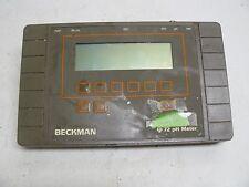 BECKMAN PHI 72 PH METER CAT NUMBER 123144 12VDC 0.3 AMP SERIAL NUMBER 260820