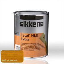 Sikkens Cetol HLS Extra eiche hell 1l - Holzschutz Lasur Holzlasur