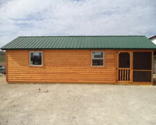 Amish Made Modular Cabins | Deer Run Cabins - 14' x 28' Elk - Many Other Sizes