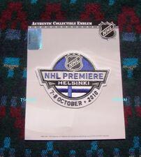 2010 NHL Premiere Patch Helsinki Finland Carolina Hurricanes vs Minnesota Wild