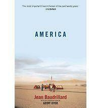 Very Good, America, Jean Baudrillard, Book