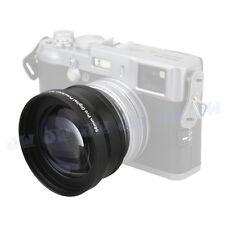 3 in 1 58mm 2XTelephoto Lens kit For FUJIFILM X100F X100S X100T 23MM LENS camera