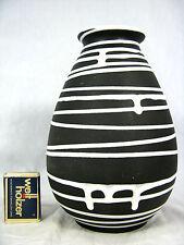 """Seltene 50´s Liesel Spornhauer Design Schloßberg Keramik Vase """" Roulette"""" 105/20"""