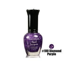 1 Kleancolor Nail Polish Lacquer 180 Diamond Purple Manicure Girl