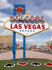 Vintage LAS VEGAS STRIP WELCOME SIGN Photo 8x10 Casino