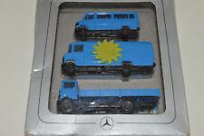 1:87 Mercedes-Benz LKW Set Transporter 207D 508D Pritsche Düdo MB Set OVP Herpa