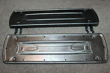 Harley Driver Square Style Footboard Set w/ Raw Finish Replaces 2938-14 (814