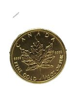 2009 Canada 1/10 oz Gold Maple Leaf BU