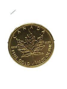 2009 Canada 1/10 oz Gold Maple Leaf BU