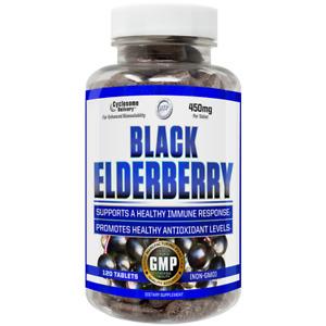 Black Elderberry Extract120 Tabs Liposomal Sambucus Immune Antioxidant