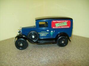 Liberty Classics Model A Ford Wm.Wrigley Jr Co. Doublemint Gum Die-Cast Bank