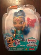 "Fisher-Price Shimmer and Shine Zahramay Skies Shine Doll 6"" Nip"