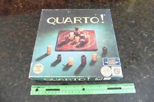 Quarto! strategy board game wood pieces complete 1993 Gigamic