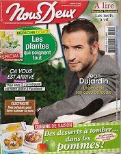 NOUS DEUX N° 3509--INTERVIEW JEAN DUJARDIN/PLANTES QUI SOIGNENT TOUT