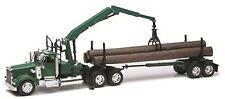 Die-Cast Truck Replica - Kenworth W900 Log Carrier, 1:32 Scale, Model# 13743