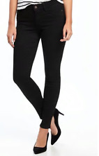 Old Navy Mid-Rise Black Rockstar Super Skinny Jeans for Women Size 12