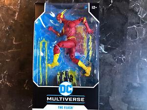 Mcfarlane dc multiverse the flash. The Flash Action Figure Macfarlane The Flash.