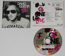 David Guetta - One Love  U.S. promo label cd