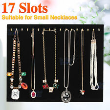 Necklace Jewelry bracelet Chain Show Display Holder Stand Neck Velvet Easel OZ