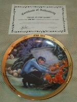 "1986 Star Trek Hamilton Collection ""Devil In The Dark"" Plate w/Original Box"