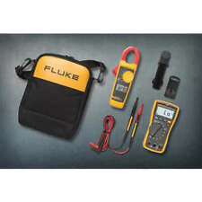 Fluke 117323 Kit Trms Acdc Electricians Dmmclamp Meter Combo Kit