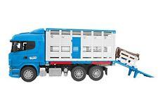 Bruder Scania R-series Camion trasporto Bestiame con un bovino M.shop GIW