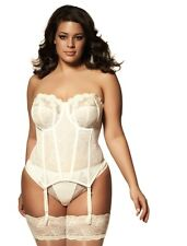 Elomi Occasions Underwire Basque Style 8202 34DD Ivory.