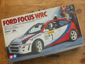 TAMIYA 24217 - FORD FOCUS WRC - VERY RARE 1/24 SCALE MODEL KIT