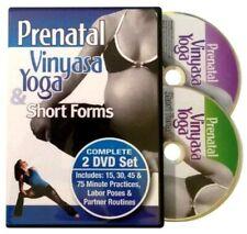 Complete Prenatal Vinyasa Yoga  Short Forms (DVD, 2012, 2-Disc Set)