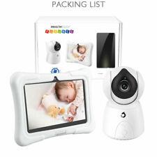 2.4Ghz Wireless Baby Monitor Camera Digital Lcd Night Vision Video 2-way Audio