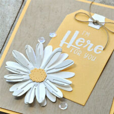 Daisy Flower Metal Cutting Dies Scrapbooking Card Making Album Embossing Craft