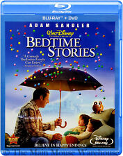Disney Adam Sandler Courteney Cox Family Comedy Bedtime Stories on Blu-ray & DVD