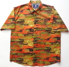 ROCAWEAR NEW MENS Big Tall CAMO CAMOUFLAGE BUTTON DOWN SHIRT sz- 3X 3XB BIG