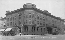 Real Photo Postcard Hotel Albert in Albert Lea, Minnesota~113289