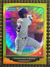 Francisco Lindor - 2013 Bowman Chrome Top Prospects Gold Refractor #ED/50