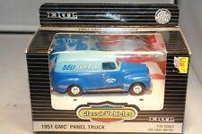 1951 GMC Panel Van Diecast 1/43 Scale ERTL Mint in Box