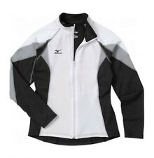 Mizuno 9 Nine Collection Full Zip Jacket Size XS Softball Volleyball Wht  $80