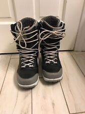 Nike Zoom Danny Kass DK Snowboard Boot Sz 8 407642-010 Grey Black Rare