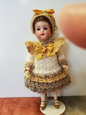 Beautiful Crocheted Ensemble for Antique/Other Mignonette