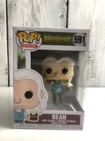 Funko Pop Animation Disenchantment Bean 591 Mint Authentic Doll Toy Collectible