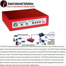 GIS-R2 Internet access gateway WiFi Hotspot up to 30 users 4-port switch