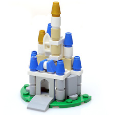 Custom LEGO Micro Disney Castle - New, Includes Parts and Instructions