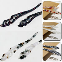 Vintage Acrylic Headdress Hairpin Chinese Traditional Women Hair Accessories
