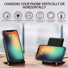 Fast Wireless Phone Charger Qi Wireless Charging Pad Foldable plus