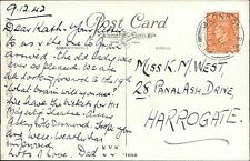 Katherine M West. 28 Pannal Ash Drive, Harrogate. 1942. Father   JE.523