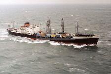 rp00512 - Clan Line Cargo Ship - Clan Alpine , built 1967 - photo 6x4
