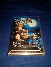 NEU & OVP:DVD:Star Wars:Die Ewoks-2 Filme: Karawane der Tapferen+ Kampf um Endor