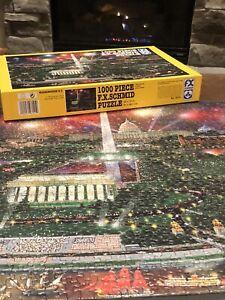 1996 FX Schmid Washington D.C. Jigsaw Puzzle 1000pc Capital Lincoln Complete